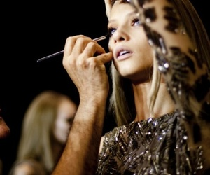 model, fashion, and make up image