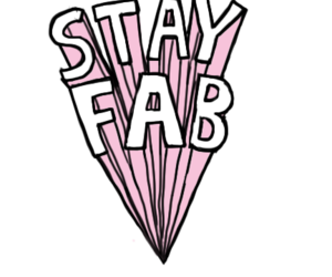 fabulous, pink, and stay fab image