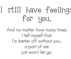 feelings, without you, and no matter image