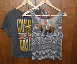 Guns N Roses, indie, and shirt image