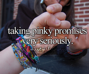promise, friends, and pinky image