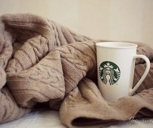 starbucks, coffee, and sweater image