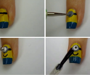 nails and minions image