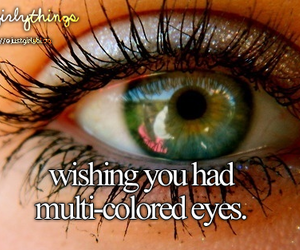 eyes, makeup, and wish image