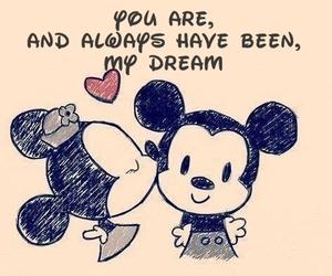 love, disney, and Dream image