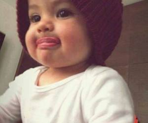 :p, beautiful, and child image