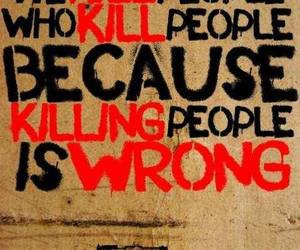 killing, people, and think image