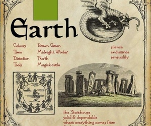 earth, magic, and wicca image