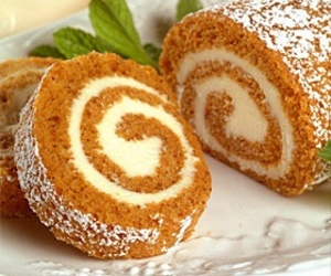 cake and pumpkin roll image