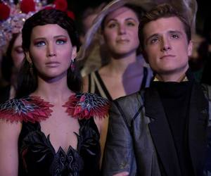 catching fire, katniss, and katniss everdeen image