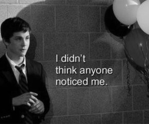 logan lerman, quotes, and black and white image