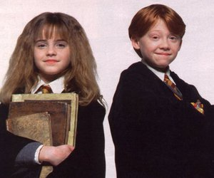 baby, harry potter, and hermione granger image