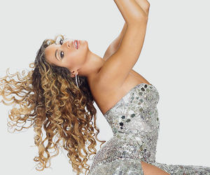 beautiful, beyonce' knowles, and curls image