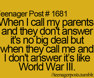 post, teenager post, and parents image