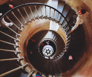 photography, vintage, and stairs image