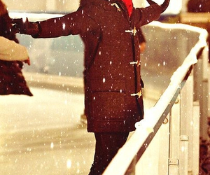 darren criss, glee, and snow image