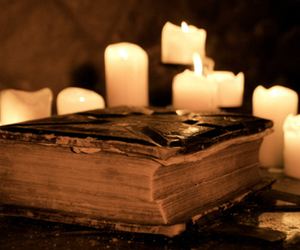 book and candle image
