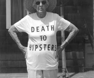 hipsters, hipster, and death image
