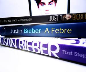 books and justin bieber image