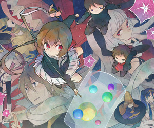 anime, koto, and kyousougiga image