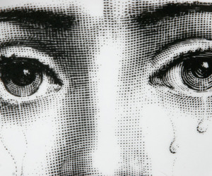 eyes, art, and tears image