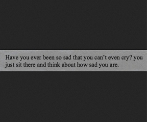 cry, quote, and sad image