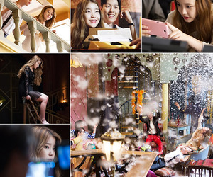 the red shoes, lee ji eun, and mv making image