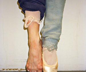 ballet, feet, and dance image