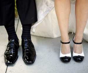 couple, shoe, and shoes image