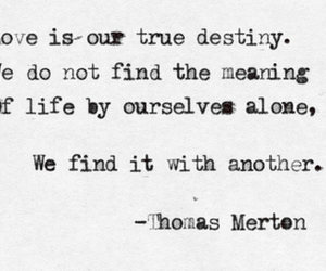 love, quote, and thomas merton image