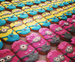 Cookies, minion, and despicable me image