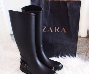 Zara, boots, and fashion image