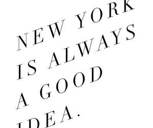quote, new york, and couple image