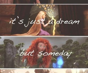 disney, Dream, and brave image