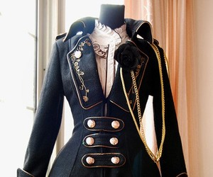 coat, lolita, and ghotic image