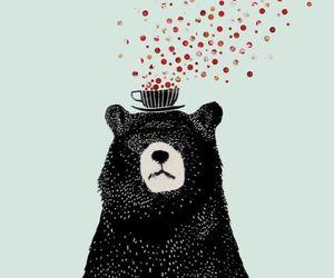 bear, art, and wallpaper image