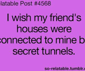 friends, house, and tunnel image