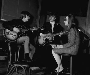1964, jane asher, and peter asher image