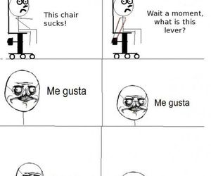 funny and me gusta image