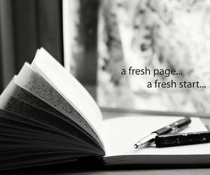 quote, text, and book image
