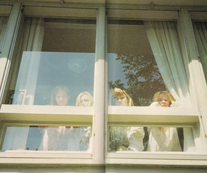 girl, virgin suicides, and window image