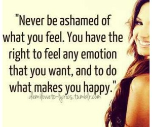 demi lovato, quotes, and emotions image