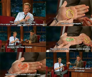 funny, neil patrick harris, and silly bands image