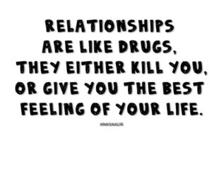 drugs, feeling, and quote image