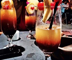 bar, bebida, and cereja image