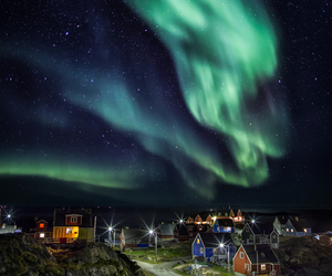 adventure, northern lights, and arctic image