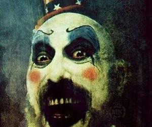 captain Spaulding, clown, and killer image