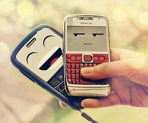 phones and two image