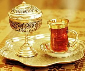 tea, azerbaijan, and love image