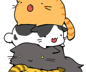 cat, kawaii, and neko image
